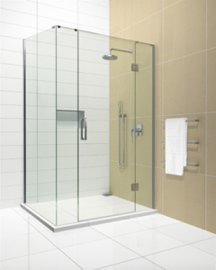glass protection on shower glass